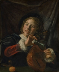 Boy with a lute c. 1625