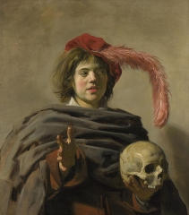 Young Man with a Skull, c. 1626-1628