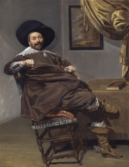 Willem Heythuijsen by Frans Hals 1634