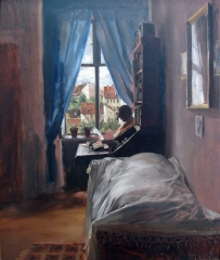 The Bedroom of the Artist in the Ritterstraße, 1847