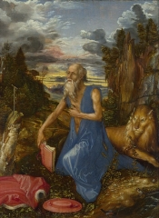 St Jerome in the Wilderness, 1495