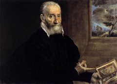 Portrait of Giorgio Giulio Clovio, the earliest surviving portrait from El Greco