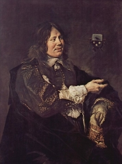 Portrait of Stephan Geraedts, husband of Isabella Coymans, 1652