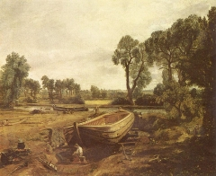 Boat-building near Flatford Mill 1815