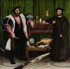 Double Portrait of Jean de Dinteville and Georges de Selve (The Ambassadors), 1533.