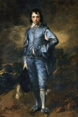 The Blue Boy (1770).
