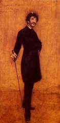 Whistler by William Merritt Chase, 1885