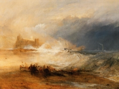 Wreckers Coast of Northumberland, painted ca. 1836.