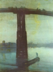 Nocturne, Blue and Gold - Old Battersea Bridge (1872)