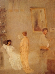 Whistler in his Studio 1865