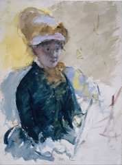 Mary Cassatt, Self-Portrait, c. 1880