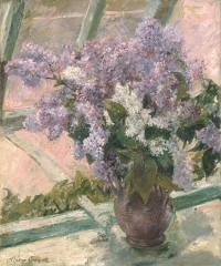 Lilacs in a Window (1879)
