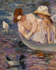 Summertime by Mary Cassatt, c. 1894