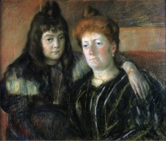 Madame Meerson and Her Daughter (1899)