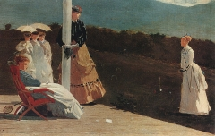 The Croquet Match, ca. 1869
