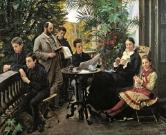 The Hirschsprung family, 1881