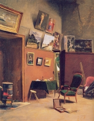 Studio in the Rue de Furstenberg, 1865