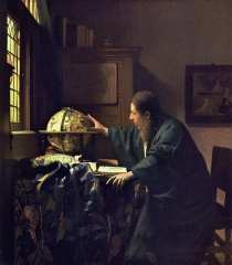 The Astronomer (c. 1668)