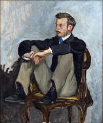Portrait of Renoir, 1867