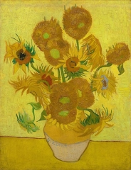 Sunflowers  1889-Vincent van Gogh