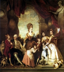 The Family of the Duke of Marlborough, 1778.