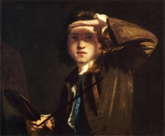 Joshua Reynolds, self-portrait