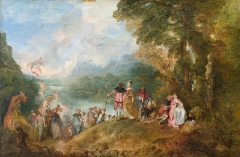 The Embarkation for Cythera, 1717