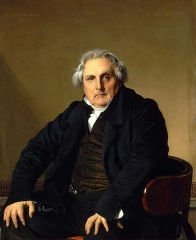 Portrait of Louis-François Bertin, 1832