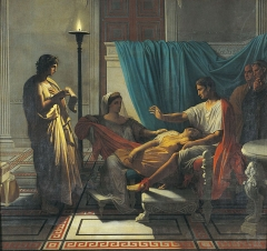 Virgil reading to Augustus, 1812