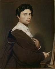 Self-portrait at age 24, 1804