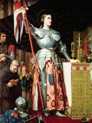 Joan of Arc at the Coronation of Charles VII, 1854