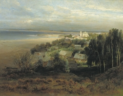 Monastery of Caves near Nizhny Novgorod (1871)