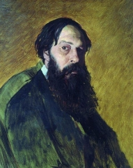 Portrait of Savrasov by Vasily Perov, 1878