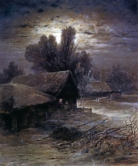 Winter Night (1869)