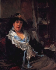 Marie Samary of the Odéon Theater, c. 188