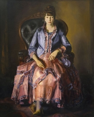 Emma in a Purple Dress (1920–23)