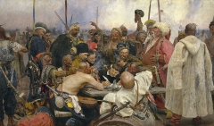 Reply of the Zaporozhian Cossacks (1891)