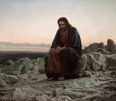 Christ in the Desert, 1872