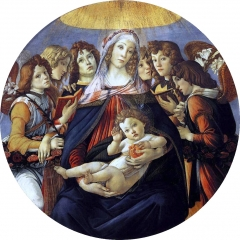 Madonna of the Pomegranate (Madonna della Melagrana), c. 1487
