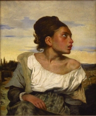 Orphan Girl at the Cemetery, 1823