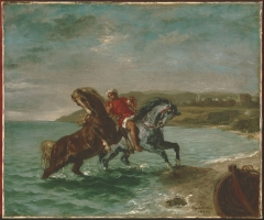 Horses Coming Out of the Sea, 1860