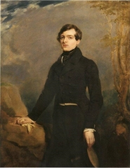 Charles Étienne Raymond Victor de Verninac, the painter's nephew, c.1825-26
