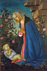The Virgin Adoring the Sleeping Christ Child, 1490