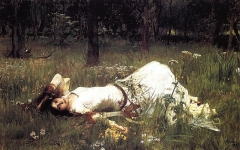 John William Waterhouse Painting 1889