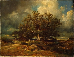 Jules Dupré, The Old Oak, 1870