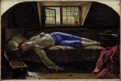 The Death of Chatterton, 1856