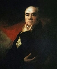 Raeburn in a self-portrait, c. 1820