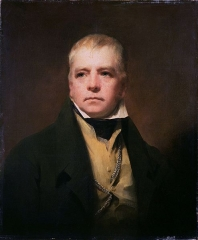 Raeburn's portrait of Sir Walter Scott (1822)