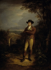 Alexander Nasmyth - Robert Burns, 1759 – 1796. Poet