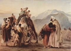 Meeting of Esau and Jacob